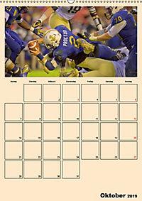 American Football. Rau, spannend, kraftvoll (Wandkalender 2019 DIN A2 hoch) - Produktdetailbild 10