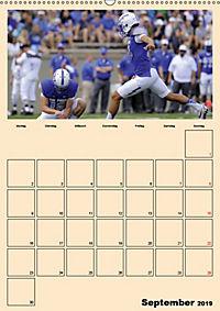 American Football. Rau, spannend, kraftvoll (Wandkalender 2019 DIN A2 hoch) - Produktdetailbild 9