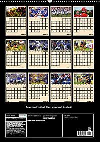 American Football. Rau, spannend, kraftvoll (Wandkalender 2019 DIN A2 hoch) - Produktdetailbild 13