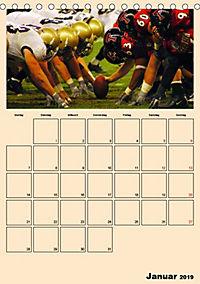 American Football. Rau, spannend, kraftvoll (Tischkalender 2019 DIN A5 hoch) - Produktdetailbild 1