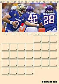 American Football. Rau, spannend, kraftvoll (Tischkalender 2019 DIN A5 hoch) - Produktdetailbild 2