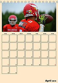 American Football. Rau, spannend, kraftvoll (Tischkalender 2019 DIN A5 hoch) - Produktdetailbild 4