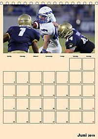 American Football. Rau, spannend, kraftvoll (Tischkalender 2019 DIN A5 hoch) - Produktdetailbild 6