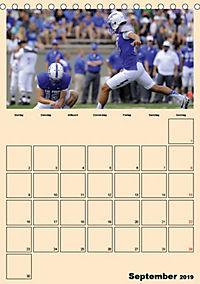 American Football. Rau, spannend, kraftvoll (Tischkalender 2019 DIN A5 hoch) - Produktdetailbild 9