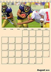 American Football. Rau, spannend, kraftvoll (Tischkalender 2019 DIN A5 hoch) - Produktdetailbild 8