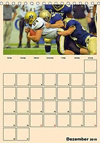 American Football. Rau, spannend, kraftvoll (Tischkalender 2019 DIN A5 hoch) - Produktdetailbild 12