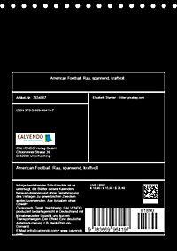 American Football. Rau, spannend, kraftvoll (Tischkalender 2019 DIN A5 hoch) - Produktdetailbild 13