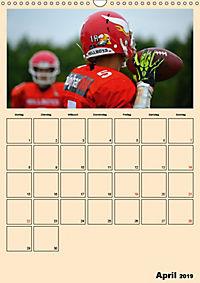 American Football. Rau, spannend, kraftvoll (Wandkalender 2019 DIN A3 hoch) - Produktdetailbild 4