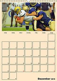 American Football. Rau, spannend, kraftvoll (Wandkalender 2019 DIN A3 hoch) - Produktdetailbild 12