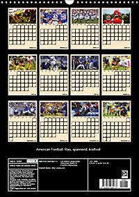 American Football. Rau, spannend, kraftvoll (Wandkalender 2019 DIN A3 hoch) - Produktdetailbild 13