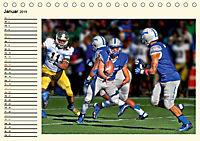 American Football - Taktik und Athletik (Tischkalender 2019 DIN A5 quer) - Produktdetailbild 1