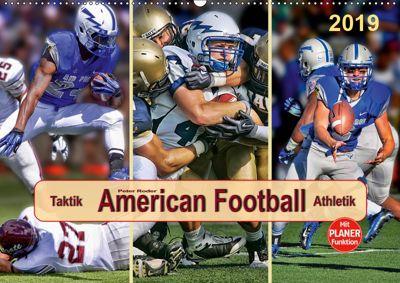 American Football - Taktik und Athletik (Wandkalender 2019 DIN A2 quer), Peter Roder