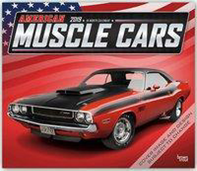 american muscle cars - amerikanische muscle-cars 2019 - kalender
