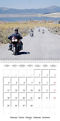 America's Southwest by Motorcycle (Wall Calendar 2019 300 × 300 mm Square) - Produktdetailbild 2