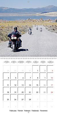 America's Southwest by Motorcycle (Wall Calendar 2019 300 × 300 mm Square) - Produktdetailbild 2