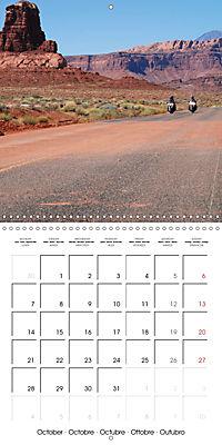America's Southwest by Motorcycle (Wall Calendar 2019 300 × 300 mm Square) - Produktdetailbild 10