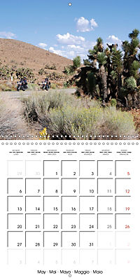 America's Southwest by Motorcycle (Wall Calendar 2019 300 × 300 mm Square) - Produktdetailbild 5