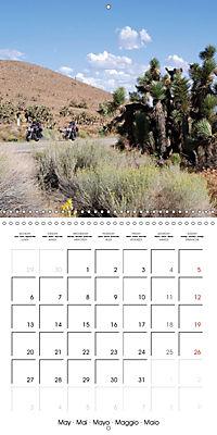America's Southwest by Motorcycle (Wall Calendar 2019 300 × 300 mm Square) - Produktdetailbild 5