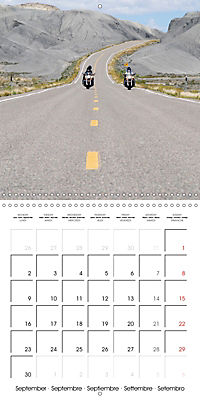 America's Southwest by Motorcycle (Wall Calendar 2019 300 × 300 mm Square) - Produktdetailbild 9