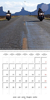 America's Southwest by Motorcycle (Wall Calendar 2019 300 × 300 mm Square) - Produktdetailbild 6