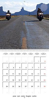 America's Southwest by Motorcycle (Wall Calendar 2019 300 × 300 mm Square) - Produktdetailbild 6