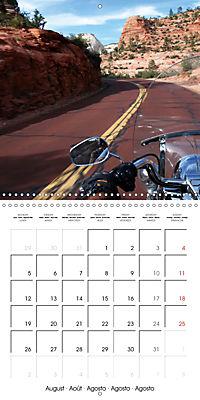 America's Southwest by Motorcycle (Wall Calendar 2019 300 × 300 mm Square) - Produktdetailbild 8