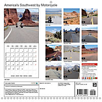 America's Southwest by Motorcycle (Wall Calendar 2019 300 × 300 mm Square) - Produktdetailbild 13