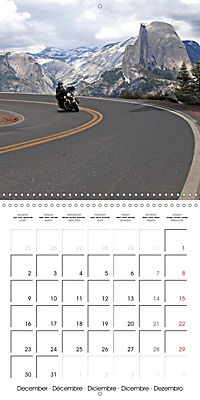 America's Southwest by Motorcycle (Wall Calendar 2019 300 × 300 mm Square) - Produktdetailbild 12