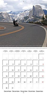 America's Southwest by Motorcycle (Wall Calendar 2019 300 × 300 mm Square) - Produktdetailbild 12