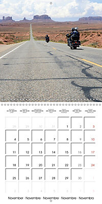 America's Southwest by Motorcycle (Wall Calendar 2019 300 × 300 mm Square) - Produktdetailbild 11