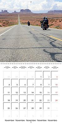 America's Southwest by Motorcycle (Wall Calendar 2019 300 × 300 mm Square) - Produktdetailbild 11