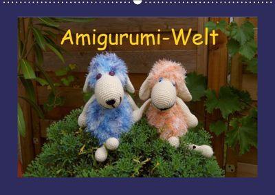 Amigurumi-Welt (Wandkalender 2019 DIN A2 quer), Helmut Schneller