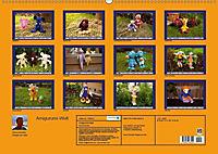 Amigurumi-Welt (Wandkalender 2019 DIN A2 quer) - Produktdetailbild 13