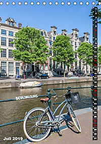AMSTERDAM Charmantes Stadtherz (Tischkalender 2019 DIN A5 hoch) - Produktdetailbild 7