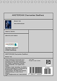AMSTERDAM Charmantes Stadtherz (Tischkalender 2019 DIN A5 hoch) - Produktdetailbild 13