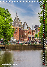 AMSTERDAM Charmantes Stadtherz (Tischkalender 2019 DIN A5 hoch) - Produktdetailbild 11