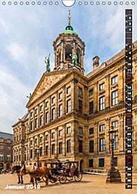 AMSTERDAM Charmantes Stadtherz (Wandkalender 2019 DIN A4 hoch) - Produktdetailbild 1