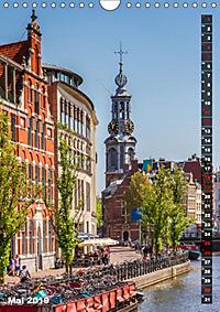 AMSTERDAM Charmantes Stadtherz (Wandkalender 2019 DIN A4 hoch) - Produktdetailbild 5
