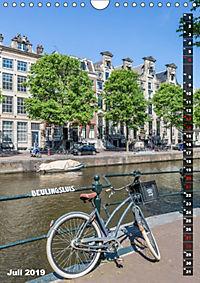 AMSTERDAM Charmantes Stadtherz (Wandkalender 2019 DIN A4 hoch) - Produktdetailbild 7