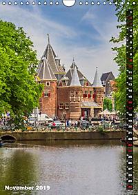 AMSTERDAM Charmantes Stadtherz (Wandkalender 2019 DIN A4 hoch) - Produktdetailbild 11