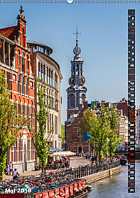 AMSTERDAM Charmantes Stadtherz (Wandkalender 2019 DIN A2 hoch) - Produktdetailbild 5