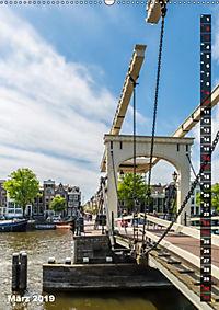 AMSTERDAM Charmantes Stadtherz (Wandkalender 2019 DIN A2 hoch) - Produktdetailbild 3