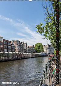 AMSTERDAM Charmantes Stadtherz (Wandkalender 2019 DIN A2 hoch) - Produktdetailbild 10