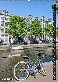 AMSTERDAM Charmantes Stadtherz (Wandkalender 2019 DIN A2 hoch) - Produktdetailbild 7