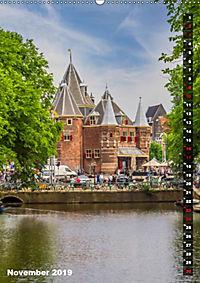 AMSTERDAM Charmantes Stadtherz (Wandkalender 2019 DIN A2 hoch) - Produktdetailbild 11