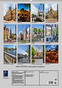 AMSTERDAM Charmantes Stadtherz (Wandkalender 2019 DIN A2 hoch) - Produktdetailbild 13