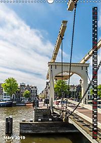 AMSTERDAM Charmantes Stadtherz (Wandkalender 2019 DIN A3 hoch) - Produktdetailbild 3