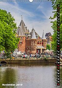 AMSTERDAM Charmantes Stadtherz (Wandkalender 2019 DIN A3 hoch) - Produktdetailbild 11