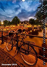 AMSTERDAM Charmantes Stadtherz (Wandkalender 2019 DIN A3 hoch) - Produktdetailbild 12