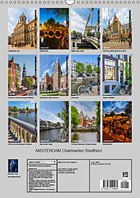 AMSTERDAM Charmantes Stadtherz (Wandkalender 2019 DIN A3 hoch) - Produktdetailbild 13